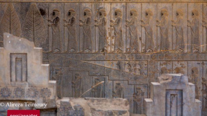 Persepolis - base reliefs