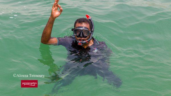 Qeshm island -snorkelling